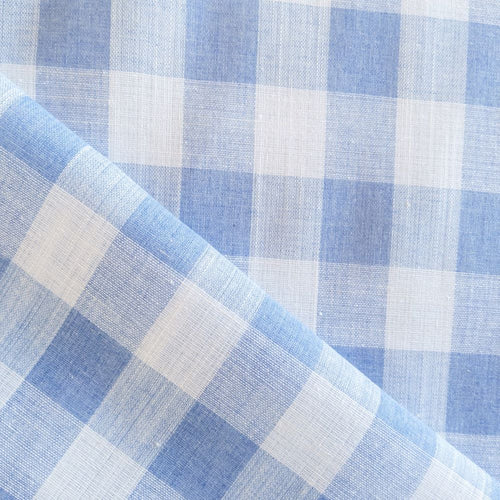 Cotton Gingham - Blue - 1/2 meter