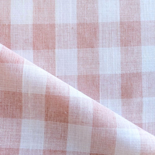 Cotton Gingham - Pink - 1/2 meter
