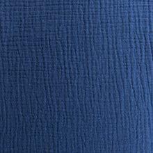 Load image into Gallery viewer, Cotton Double Gauze - Navy - 1/2 metre