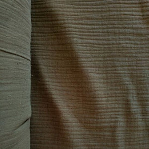 Cotton Double Gauze - Sage - 1/2 metre
