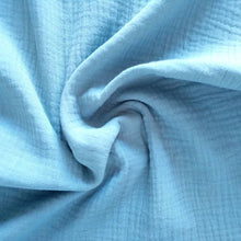 Load image into Gallery viewer, Cotton Double Gauze - Tiffany - 1/2 meter