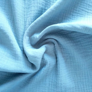 Cotton Double Gauze - Tiffany - 1/2 meter