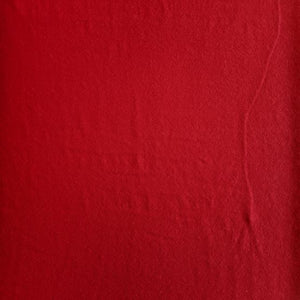 Hemp Jersey Knit - Ruby - 1/2 metre