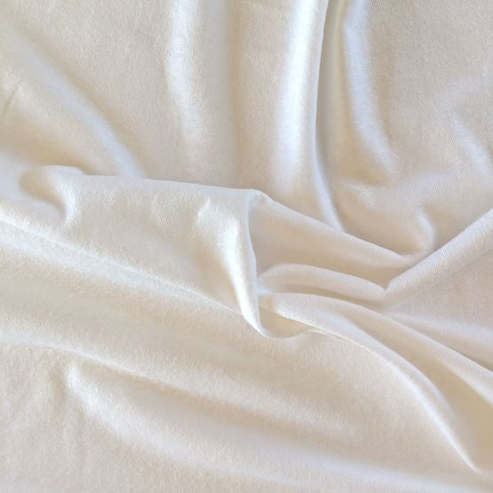 Hemp Jersey Knit - White - 1/2 metre