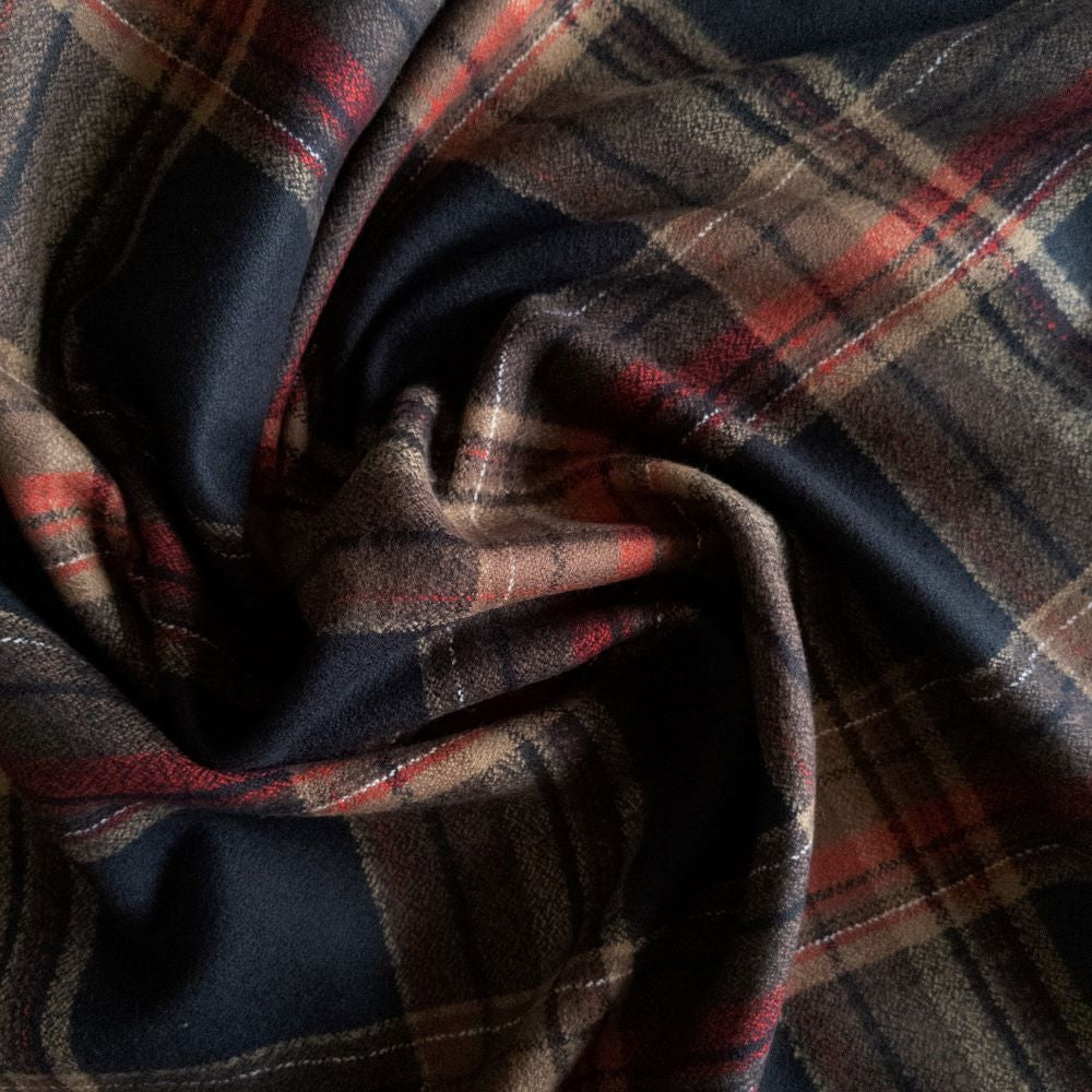 Mammoth Flannel - Russet- 1/2 metre