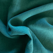 Load image into Gallery viewer, Midweight Washed Linen - Emerald - 1/2 metre