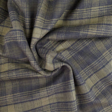 Load image into Gallery viewer, Tahoe Flannel - Olive Check - 1/2 metre