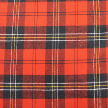 Load image into Gallery viewer, Tahoe Flannel - Red Check - 1/2 metre