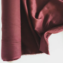 Load image into Gallery viewer, Tencel Twill - Mulberry- 1/2 metre
