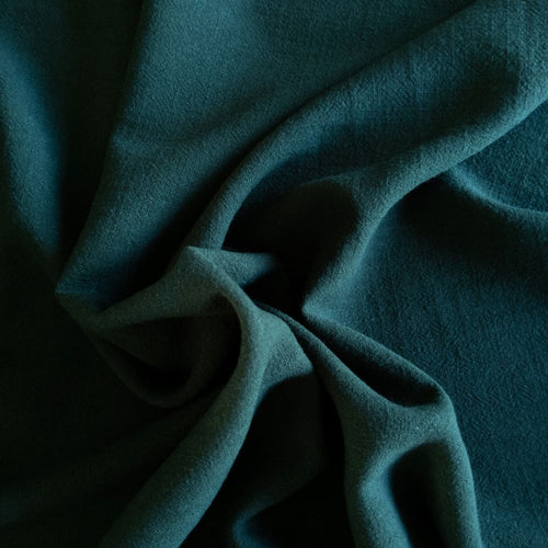 Viscose Linen Noil - Hunter - 1/2 metre