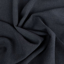 Load image into Gallery viewer, Viscose Linen Noil - Black - 1/2 metre