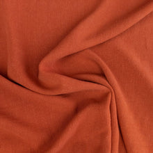 Load image into Gallery viewer, Viscose Linen Noil - Rust - 1/2 metre