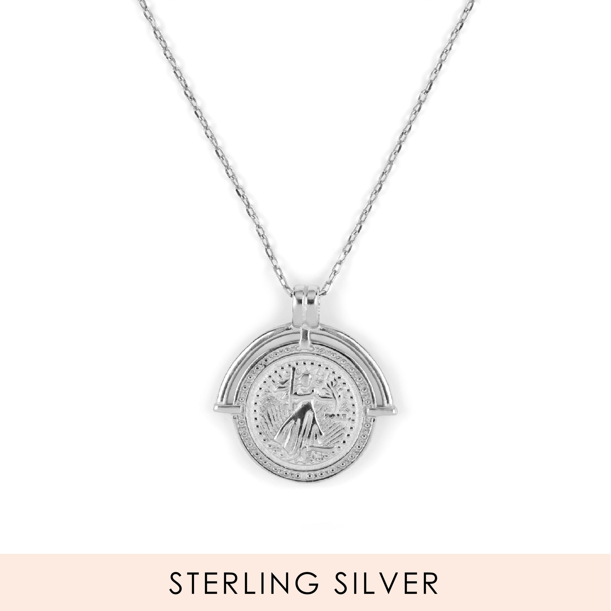 Fertility Necklace Silber