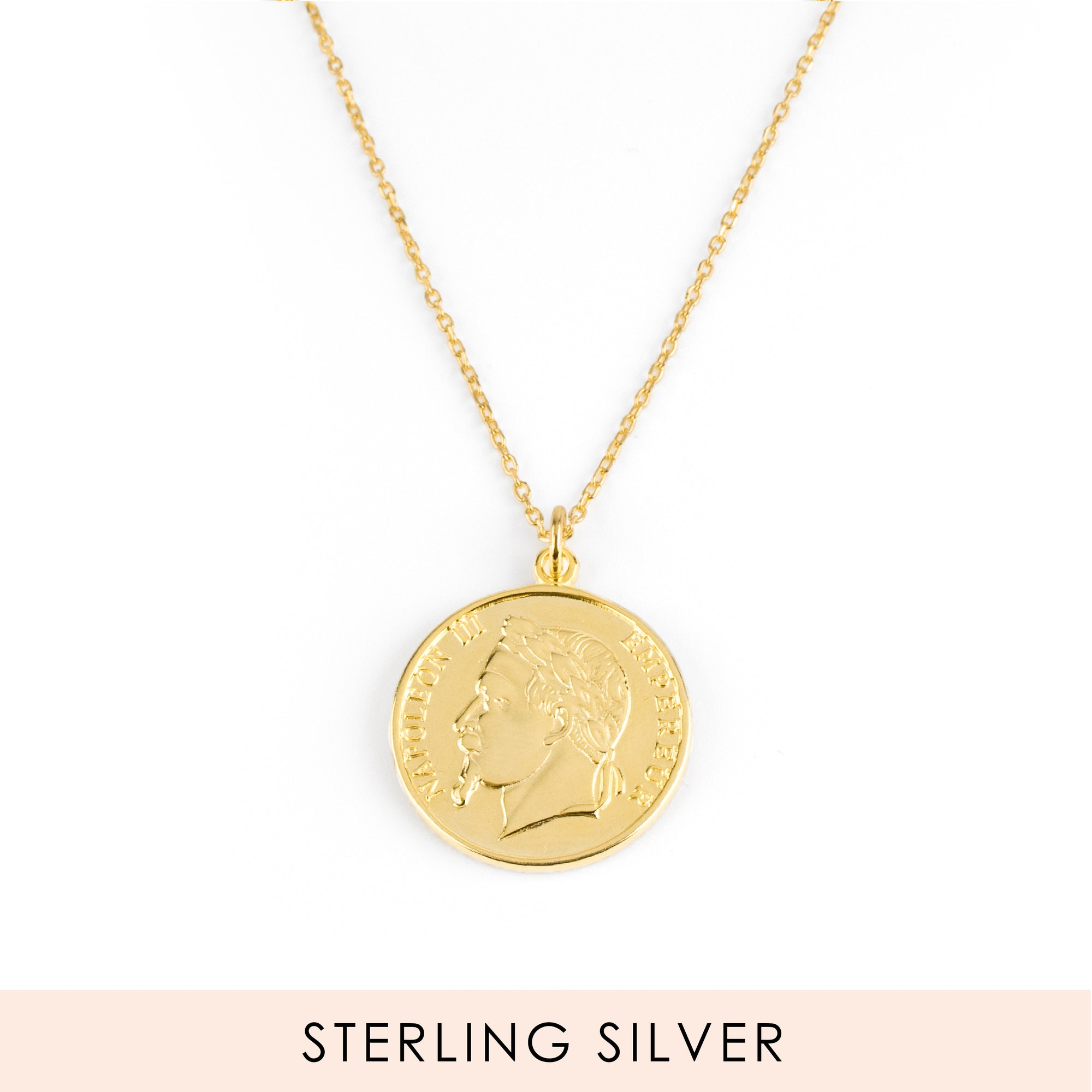 Napoleon Coin Gold Necklace SALE