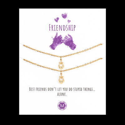 Friendship Anchor 2x Bracelet