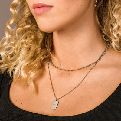 Pompa Necklace Silber