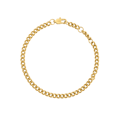 Stay With Me Bracelet Gold