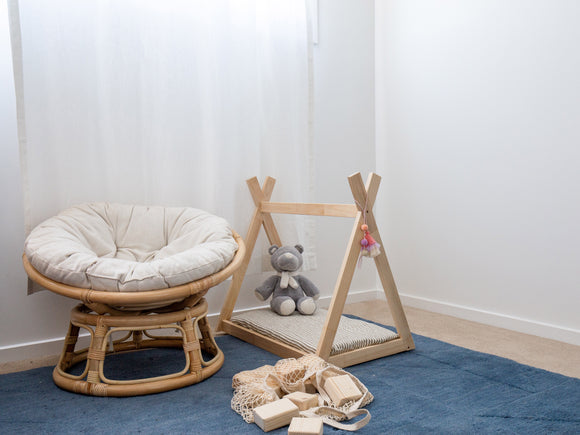 Toy teepee bed - Hali and Co