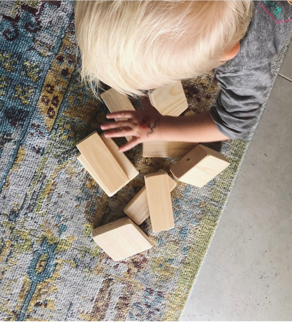 Wooden building blocks - Hali and Co