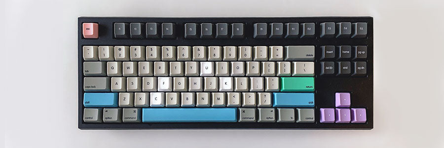Colorful mechanical keyboard