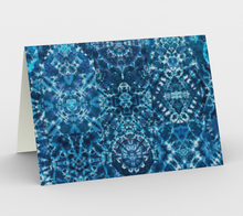 Load image into Gallery viewer, Azure Matrix Greeting Cards (Set of 3)