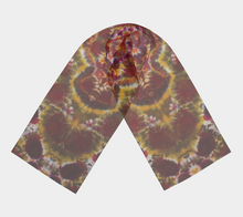 Load image into Gallery viewer, 'Golden Lama' 100% Natural Silk Scarf