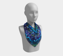 Load image into Gallery viewer, Mandala Scarf 100% Natural Silk #6059