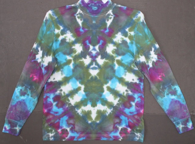 Men's tie dye longsleeved shirt S #1423