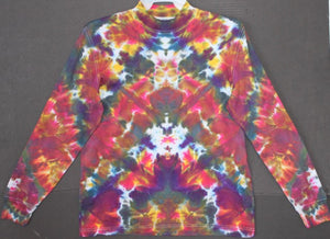 Men's tie dye longsleeved shirt S #1424