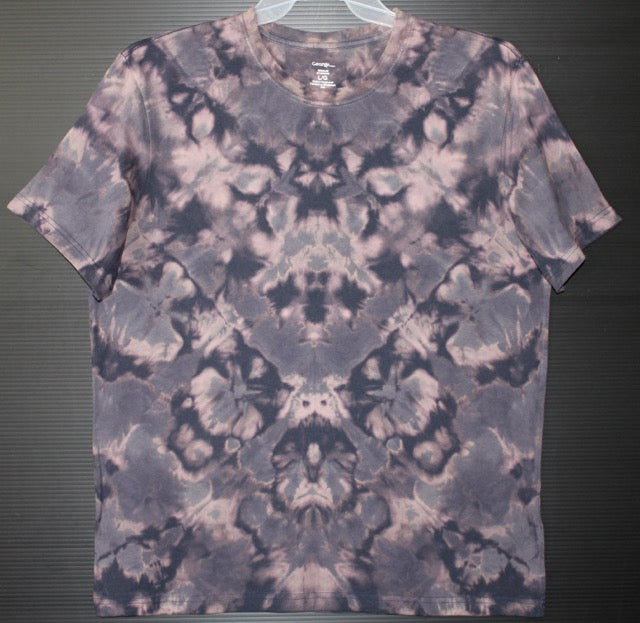 Men's tie dye T shirt L # 3565