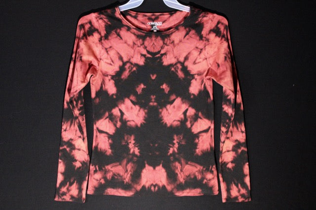Ladies long sleeve stretch  'Burning Embers' series M  #3972