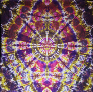 "'Sarcophagus of the Risen Mandala/Art panel.  44""X44""  #5614"