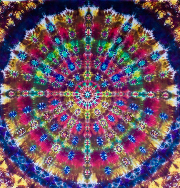 'Celebration of Life' Mandala  Dedicated to Robert Hunter 94