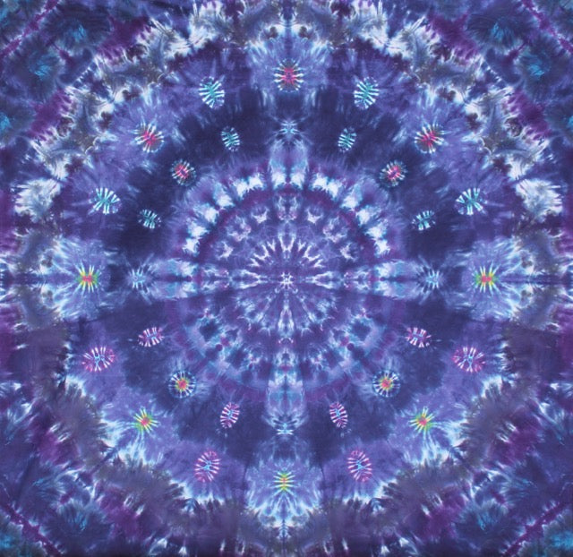 'Purple Heart Theme Mandala' 6