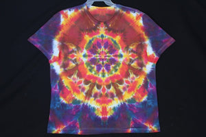 Men's reg T shirt XL  #7862  Classic Mandala design
