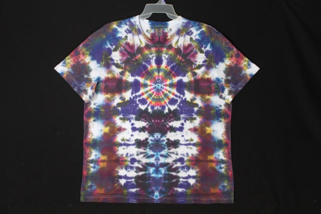 Men's reg. T shirt XXL  #7937 Mandala over Totems.