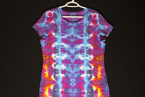"Women's soft stretch T shirt XL (40"" chest)  #8329   Totems design. $75"