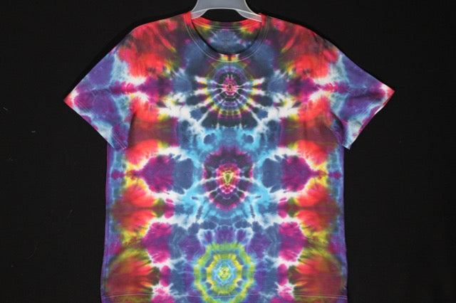 Men's reg. T shirt XL  #8352  Mandala over Scarabs Portal.  $75