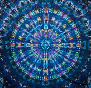 "'Heavenly Hub' Mandala 90""x 96"" #9801"
