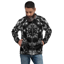 Load image into Gallery viewer, 'Luminous Flux' Unisex Bomber Jacket (Polyester)