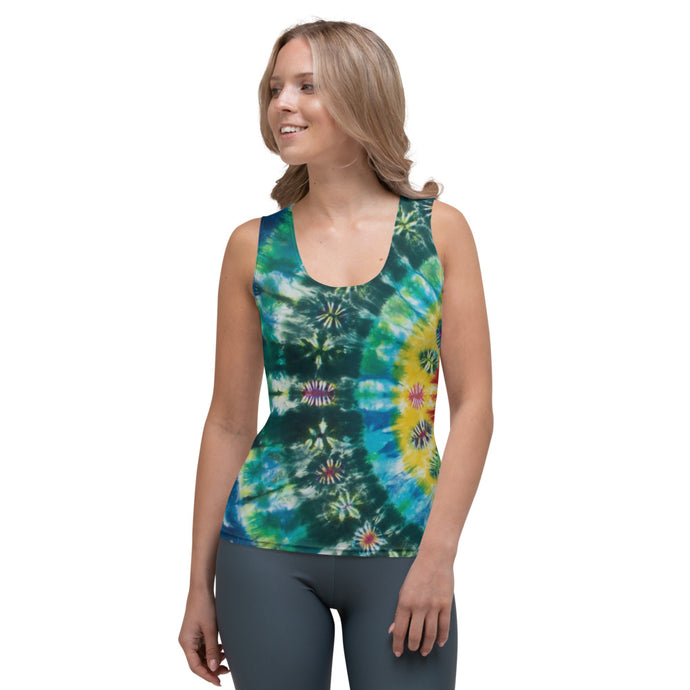 'Sunshine Daydream' Sublimation Cut & Sew Tank Top