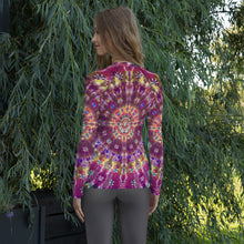 Load image into Gallery viewer, 'Fall Phantasm' Women's Rash Guard