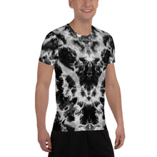 Load image into Gallery viewer, 'Winged Serpent' All-Over Print Men's Athletic T-shirt (Slim Fit)