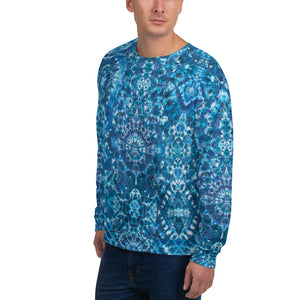 'Azure Matrix' Unisex Sweatshirt