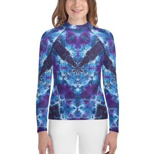 Out of the Abyss' Youth Rash Guard