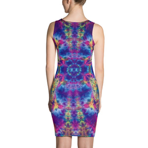 Ruby Timewarp' Sublimation Cut & Sew Dress