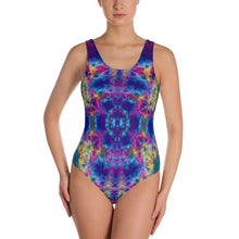Load image into Gallery viewer, 'Ruby Timewarp' One-Piece Swimsuit