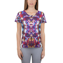 Load image into Gallery viewer, 'Gargoyle Guardian' All-Over Print Women's Athletic T-shirt