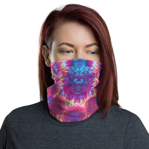 Face Shield - 'Pink Fire'