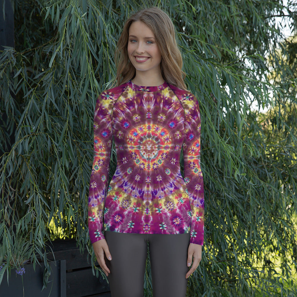'Fall Phantasm' Women's Rash Guard